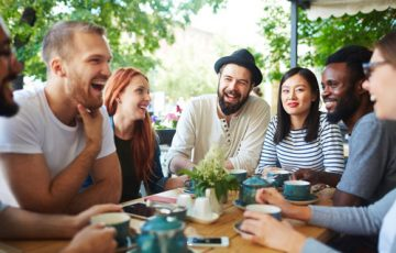 We are social creatures, but social media just isn't the same as a friendly conversation. We offer a variety of ways to connect with friendly people in a meaningful way.